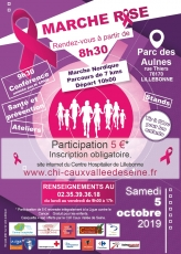 MARCHE ROSE le 5 octobre 2019 en...